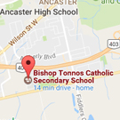 driving school Ancaster Bishop Tonnos HS location