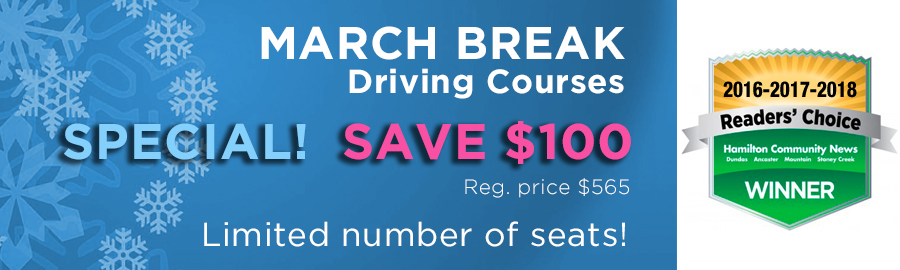 Driving Course Special Offer