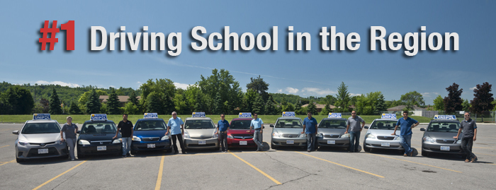 #1 Driving School in Hamilton